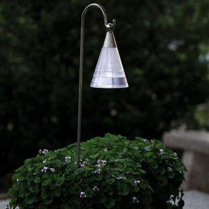 LED Solarleuchte mit  tagesweißen LEDs