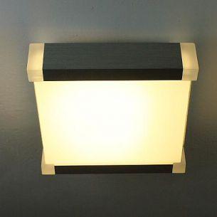Energiesparende Deckenleuchte, Alu, 38 Watt, inklusive Leuchtmittel