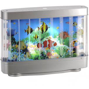 Deko-Aquarium, inklusive Leuchtmittel