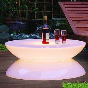 Bezaubernd ! Lichtobjekt LOUNGE Tisch für die schönsten Augenblicke in Haus und Garten