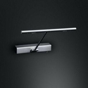 LED Bilderleuchte, schwenkbar mit Schalter - in 3 Oberflächen wählbar