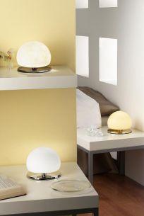 Design-Tischleuchte mit Touchdimmer, vier verschiedene Farben wählbar