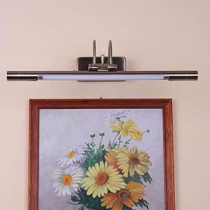Bilderleuchte in Altmessing, Energie sparend,B = 42cm, inklusive Leuchtmittel
