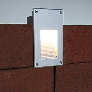 Einbaustrahler - Nur für Mauerwerk und Betonwände geeignet