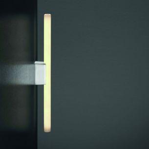 Wandleuchte OMEGA 2 in 2 Oberflächenfarben - für Linestra Röhre