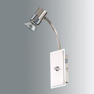 Design Wandlampe mit Schalter und Flexarm