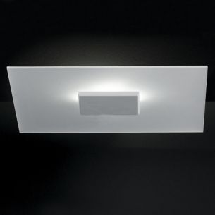 LED Wand- Deckenleuchte mit satiniertem Glas, 4 x 3,5 W Power LED, inklusive Leuchtmittel - Made in Germany