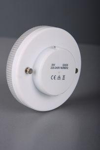 GX53, Energiesparlampe 7 Watt, 4000K neutralweiß, TCR-TSE 1x 7 Watt, 7 Watt, 270,0 Lumen