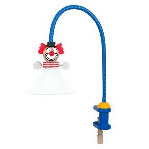 Kinder-Klemmleuchte mit Flexarm auch für Energiesparlampe