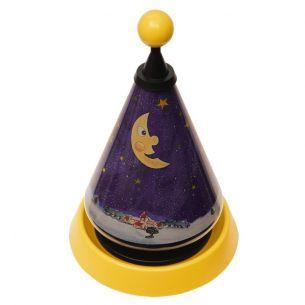 Kinder-Tischlampe projiziert Sterne ins Kinderzimmer
