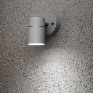 Außenwandleuchte in grau