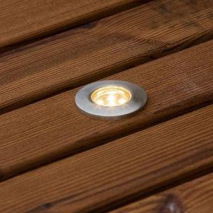 LED Einbaustrahler Set ,6 Bodenstäbe, inklusive Leuchtmittel und Transformator