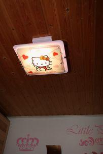 Kinder- Deckenleuchte Hello Kitty - ein Traum in rosa