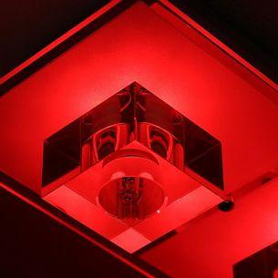 Deckenleuchte mit LED Farbwechsel, inklusive Leuchtmittel, 4 flammig