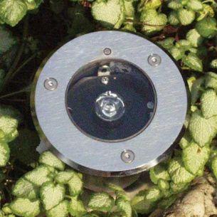 LED-Bodeneinbaustrahler aus Edelstahl, Lichtfarbe weiß 6000°K, IP67 LED kaltweiß