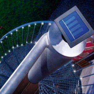 LED- 12m Party Lichterkette mit 48 energiesparenden Leuchtdioden mit Blink- oder Dauerlicht