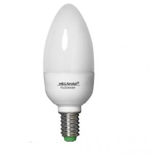 Energiesparlampe  E14 Candlelight Noblesse  5W  160Lumen