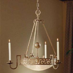 Dekorative Pendelleuchte und Kerzenleuchter für Wachskerzen - Ø72cm