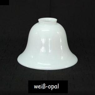 Opalglas weiß
