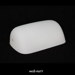 weiß, matt/opal