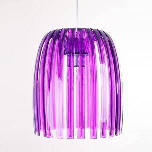 Pendelleuchte Josephine M  violett - mehrfacher Preis Gewinner transparent/violett