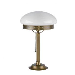weiß/messingfarbig, 47,00 cm, mundgeblasen/glänzend/opal, 30,00 cm