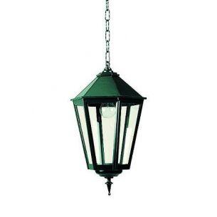 Nostalgisches Kettenpendel für den Außenbereich in hochwertiger Handarbeit - dunkelgrün lackiert