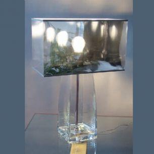 Toller Dekoartikel - Hochwertige Glasleuchte Befüllbarer Leuchtenfuß