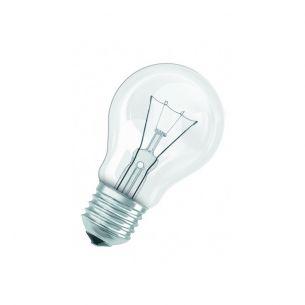 A60 Glühlampe Classic E27 klar, 15 Watt - 100 Watt