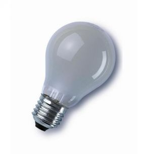 Glühlampe Classic E27 40W matt, Doppelpack, A60, stoßfeste Version 2x 40 Watt, 40 Watt, 415,0 Lumen, Doppelpack/2er Set