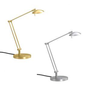 Hochwertige LED-Tischleuchte - mit Tastdimmer - 3 Oberflächen - Inklusive LEDs