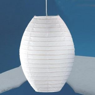 Papier Schirm in weiß weiß