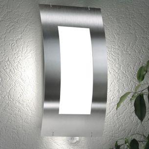 led wandleuchte aus aluminium ip 54 f r innen und au en wohnlicht. Black Bedroom Furniture Sets. Home Design Ideas