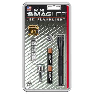 LED Mag Lite Taschenlampe Micro-Mag LED 84lm für 2x Micro Batterie AAA 10000h Lebensdauer