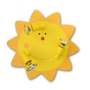 Kinderdeckenleuchte Sonne - für den kleinen Sonnenschein
