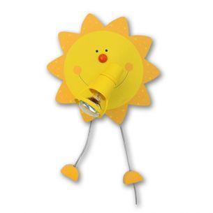 Kinderwandleuchte Sonne - für den kleinen Sonnenschein