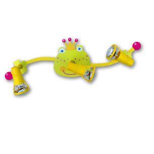 Wirst Du mein Prinz - Kinderspotbogen  Frosch - 3-flammig
