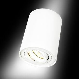 Downlight aus Aluminium in weiß matt , inklusive LED GU10 3W, 2700°K warmweiß