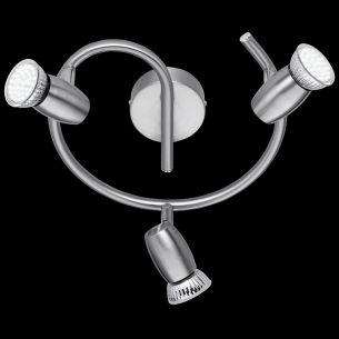 Schlichte LED-Schnecke - modernes Design - inklusive LED-Leuchmittel