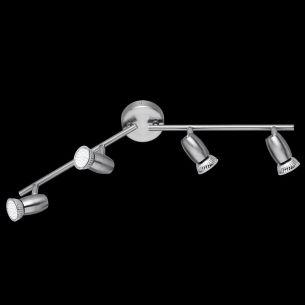 Schlichte verflammige LED-Schiene - modernes Design - inklusive LED-Leuchmittel