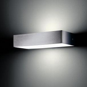 Wandleuchte - lumen S #1 HA - aus Edelstahl für den Aussenbereich, up and down
