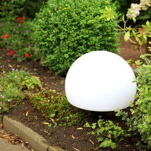Außenleuchte Erdspießleuchte mit 50 cm Durchmesser