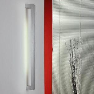 Wandleuchte aus Aluminium gebürstet, indirektes Licht 1x 14 Watt, 81,00 cm