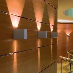 Effektwandleuchte in weiß, das Highlight für jeden Raum!