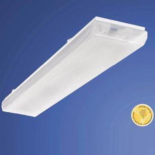 Wannen- und Deckenleuchte in  127cm Länge  -  für 1x 36W G13 1x 36 Watt, 127,00 cm
