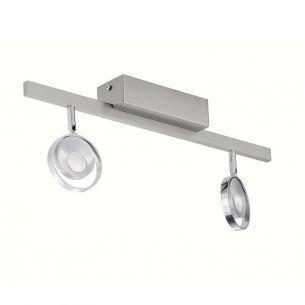 Gestalterische Neuheit - LED-Deckenstrahler 2-flammig, inklusive Power LED