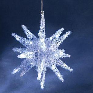 LED Weihnachtsbeleuchtung, 3-D Stern für Innen, hochwertiges Qualitätsprodukt