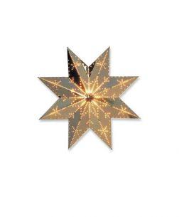 Weihnachtsbeleuchtung - Adventsstern Messing 29 cm Durchmesser - Qualitätsprodukt aus Schweden