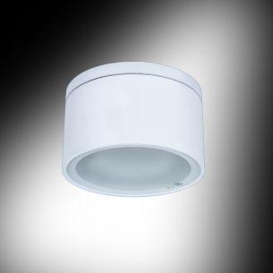 Deckenleuchte in Weiß, inklusive 11 Watt Energiespar-Leuchtmittel, 4000K