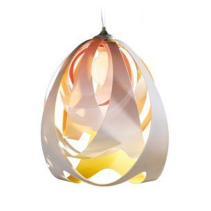 Slamp GOCCIA  DI LUCE Pendelleuchte, design by Stefano Papi - Variante FIRE gelb/orange/weiß